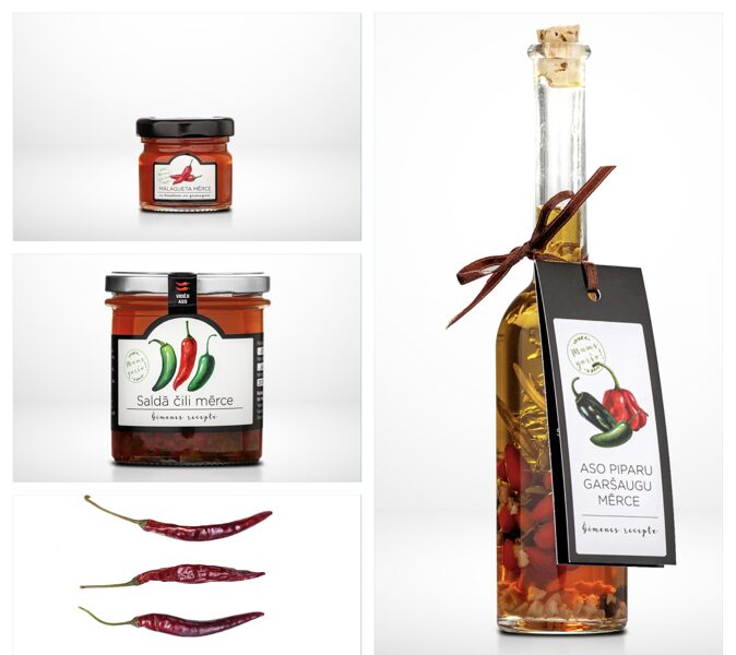 Gift set for gourmets